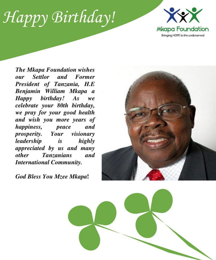 Happy Birthday Wishes to B.W.MKAPA-1