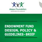 Endowment Fund Design, Policy, & Guidelines - Brief